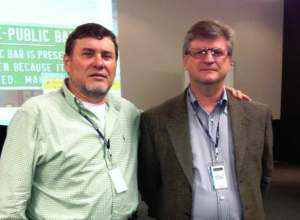 Dr Gerson Pacheco e Prof. Caliman ChildFund Brazil